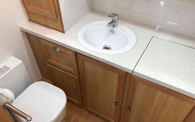 Modern bathroom fittings