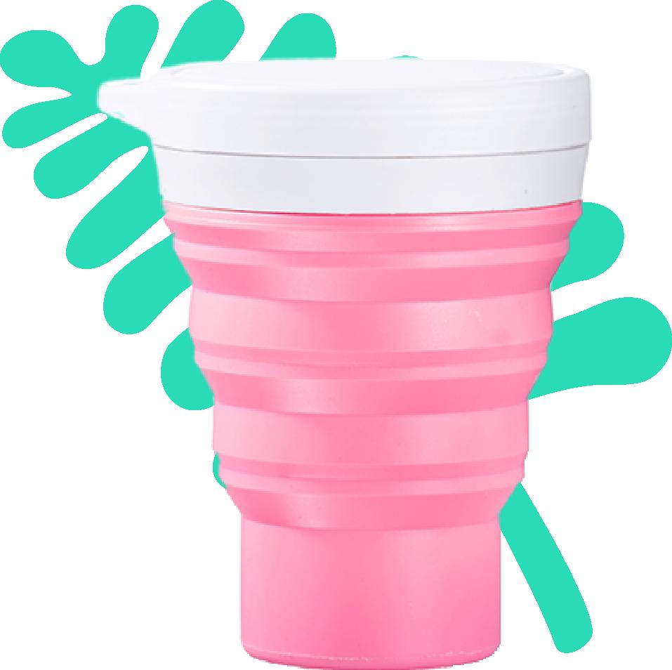 copo menos 1 lixo todas as cores