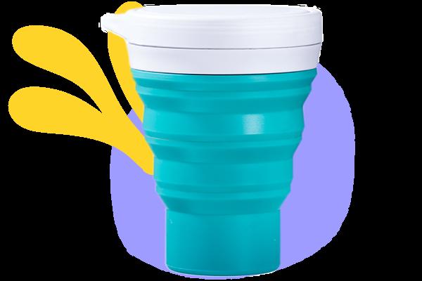 copo menos 1 lixo kiwi