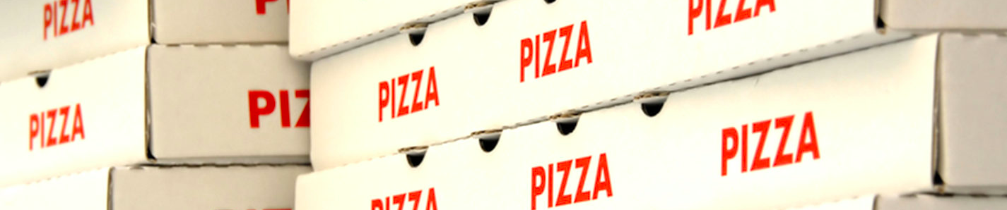 Reciclável x Reciclado | caixas de pizza