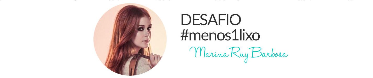 Começa o desafio da Marina Ruy Barbosa!