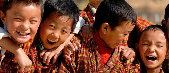 O país mais feliz do mundo