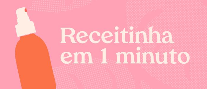 Eu testei: desodorante natural em 1 minuto