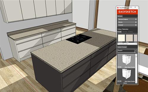 EasySketch for kitchen designers