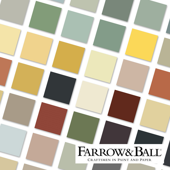 Farrow and Ball Paint Swatch 2019