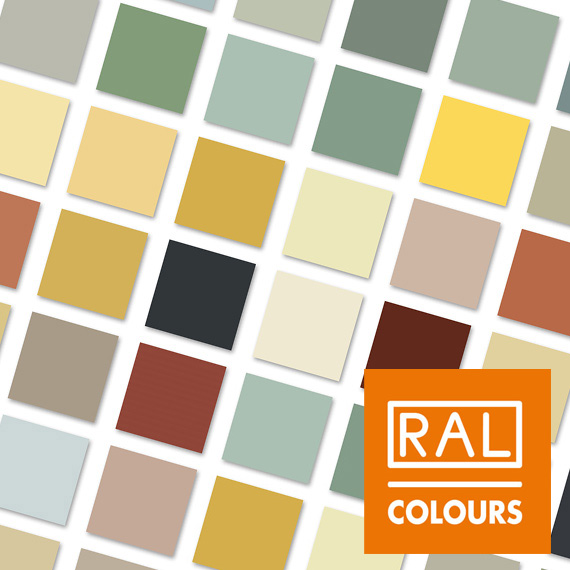 RAL Colour Swatch 2019