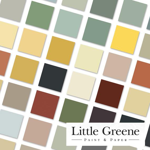 Little Greene Paint Swatch 2019