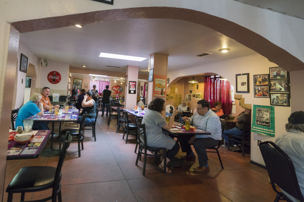 Barelas Coffeehouse is recommended by notable locals as one of the best restaurants in Albuquerque, NM.