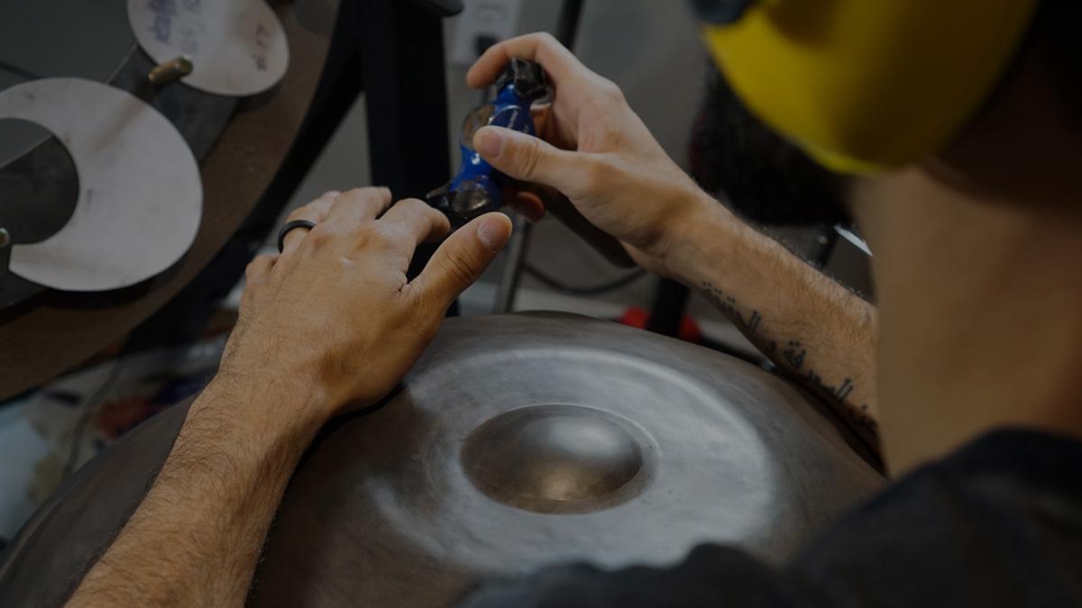 Meet a great handpan tuner: Josh Rivera