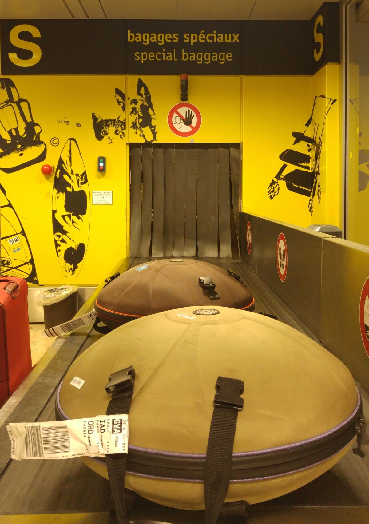 Check-in with a handpan