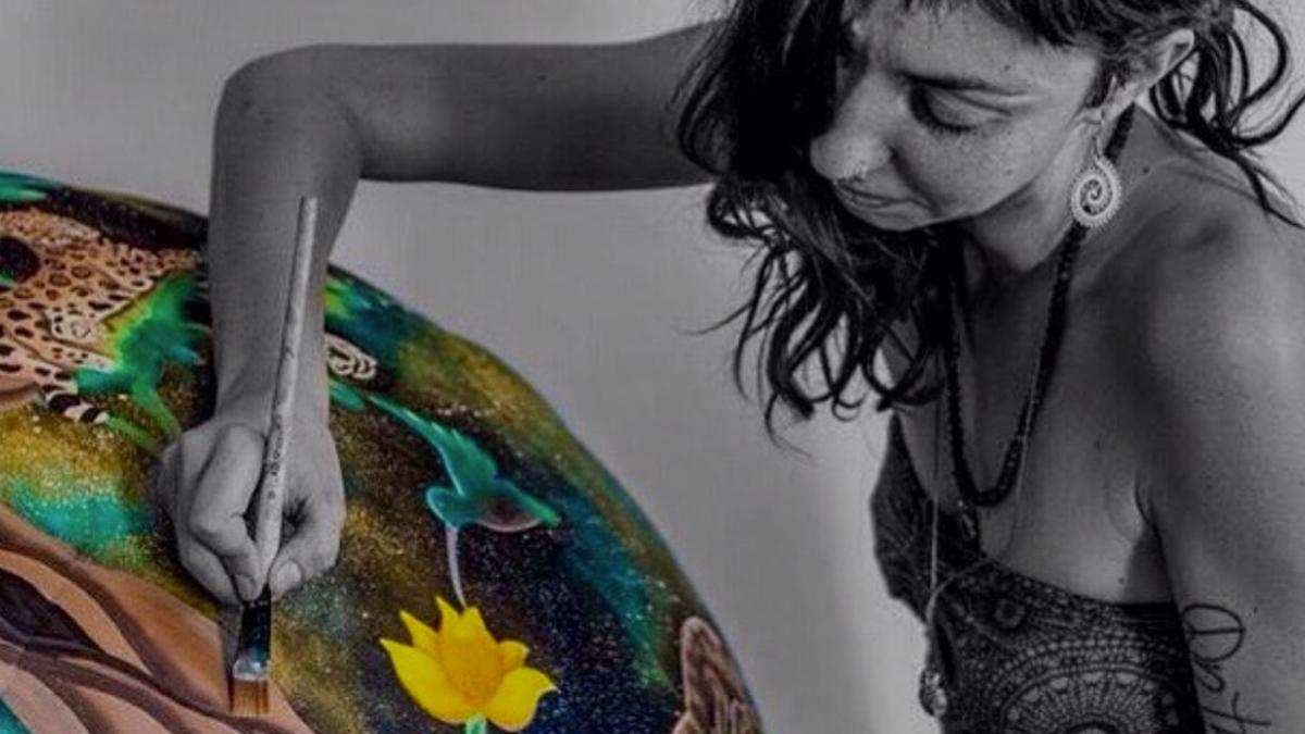 Interview with an artist: Pam 'Gogh' Marinelli