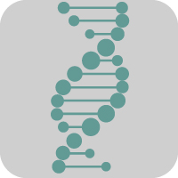 icon dna molecule