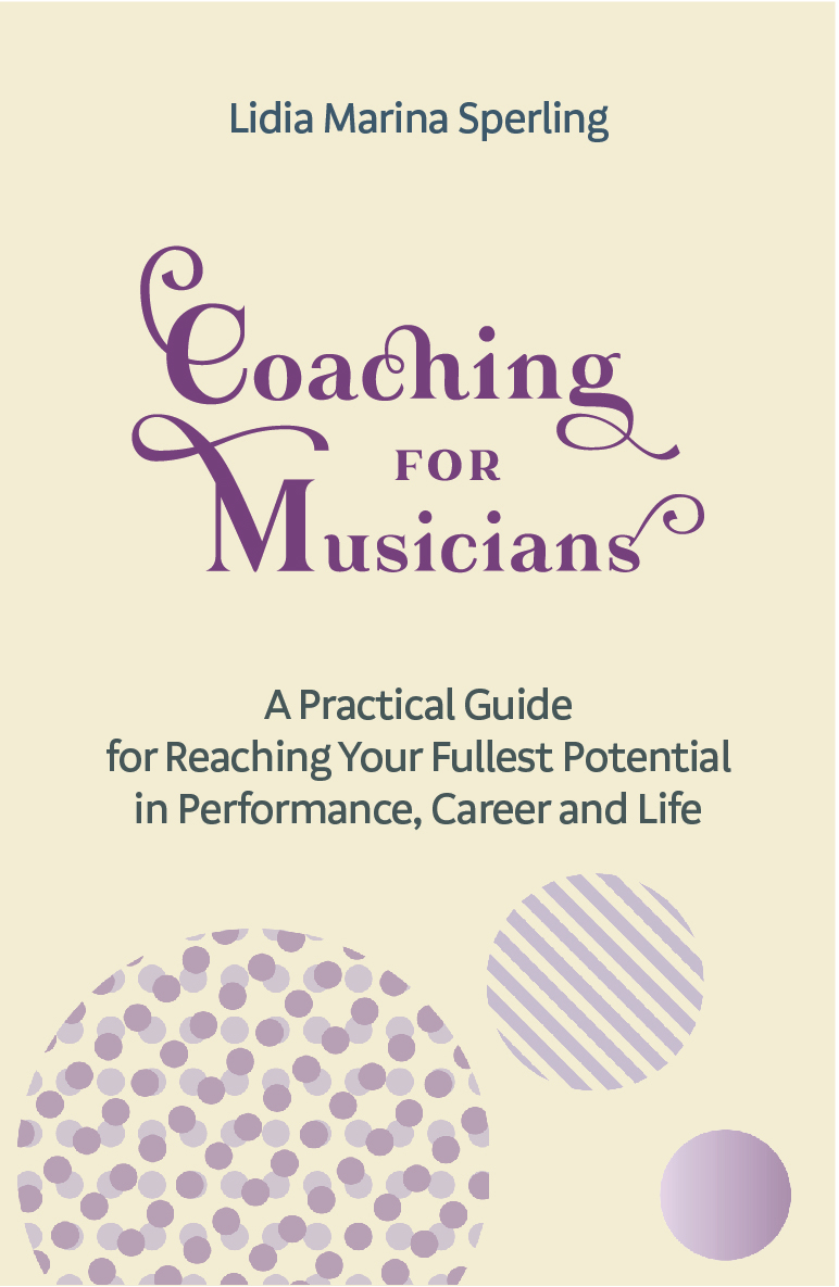 Book cover 'Coaching for Musicians'