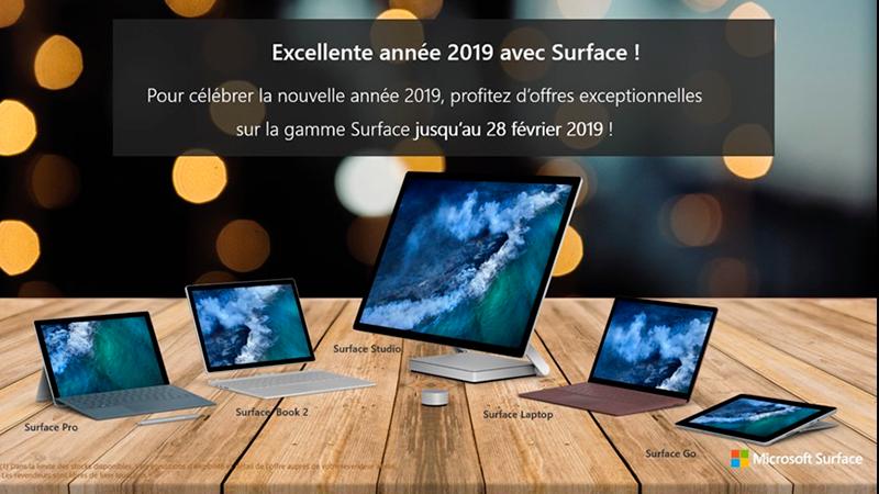 Atelier de démonstration Gamme SURFACE Microsoft