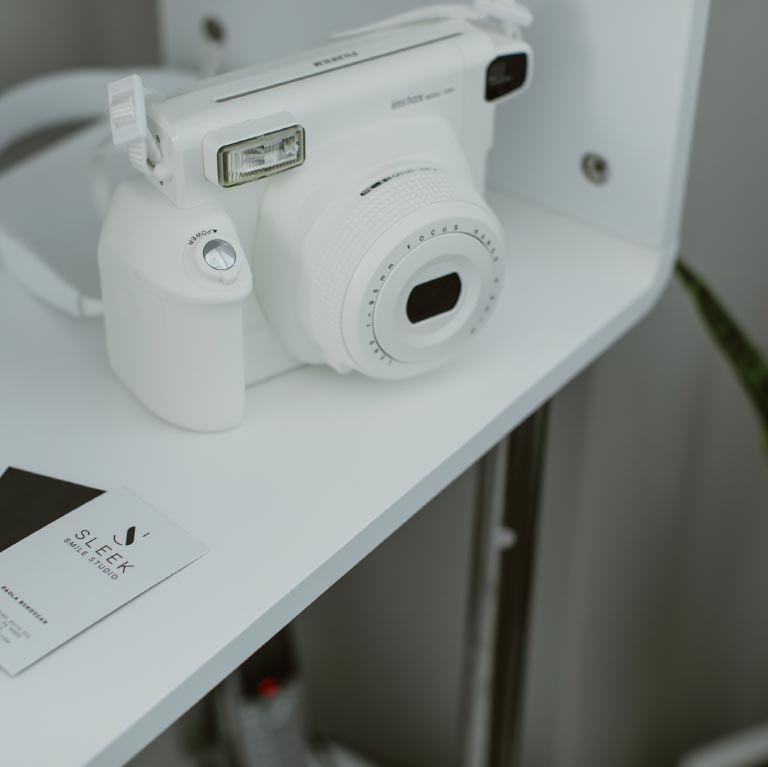 Photo of our handheld x-ray camera