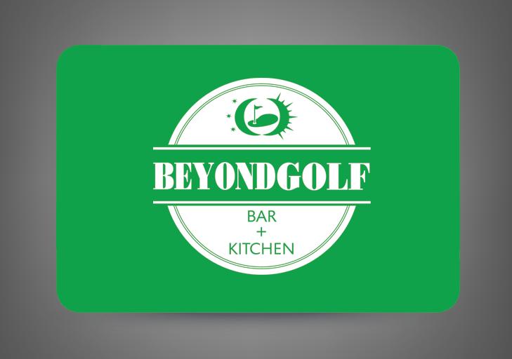 Beyond Golf gift card