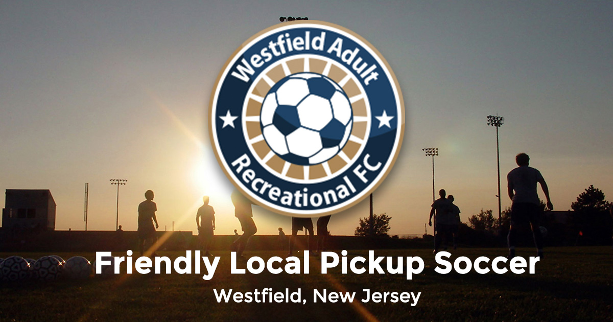 Adult soccer league nj