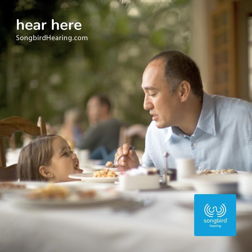 Songbird Hearing Advertising Hear Here 6