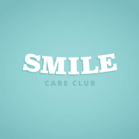 Smile Care Club Logo Concept 02