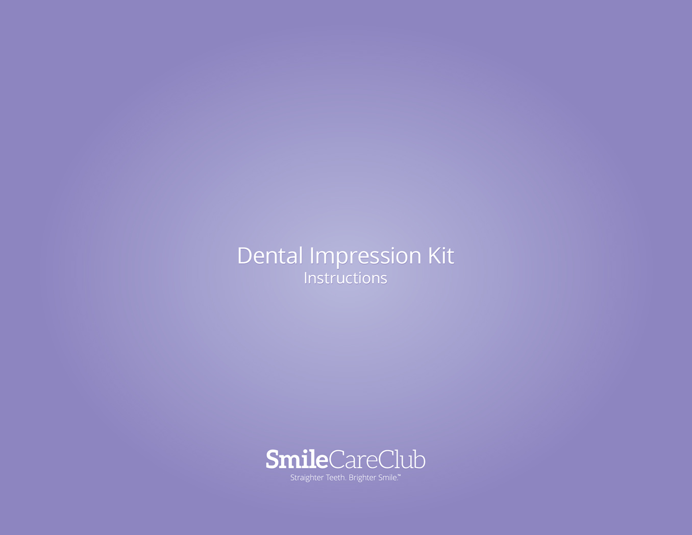 Smile Direct Dental Impression Kit