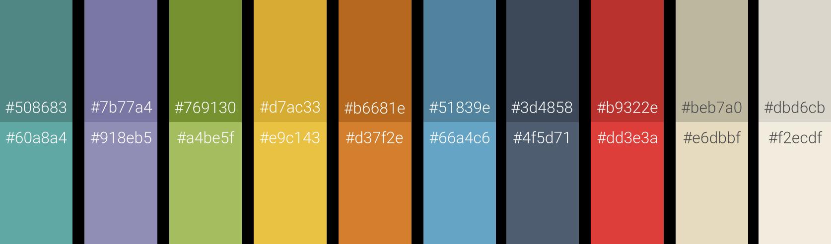 BKON Colors