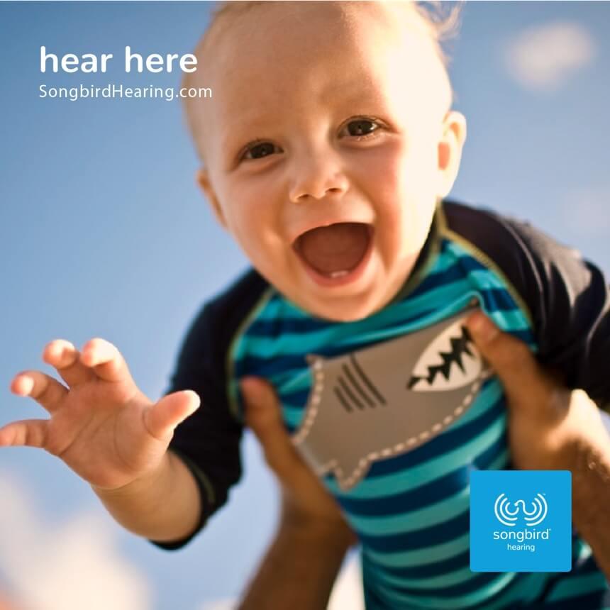 Songbird Hearing Advertising Hear Here 2
