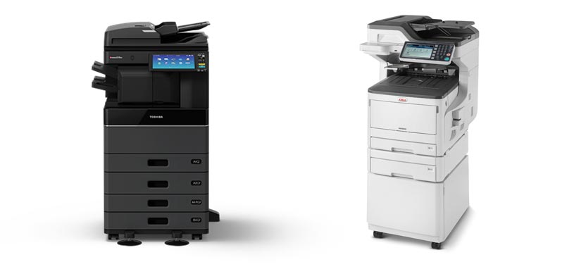 Toshiba vs OKI Printers and Photocopiers