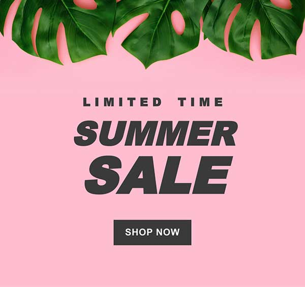 Summer Sale Email Newsletter Template from Seguno