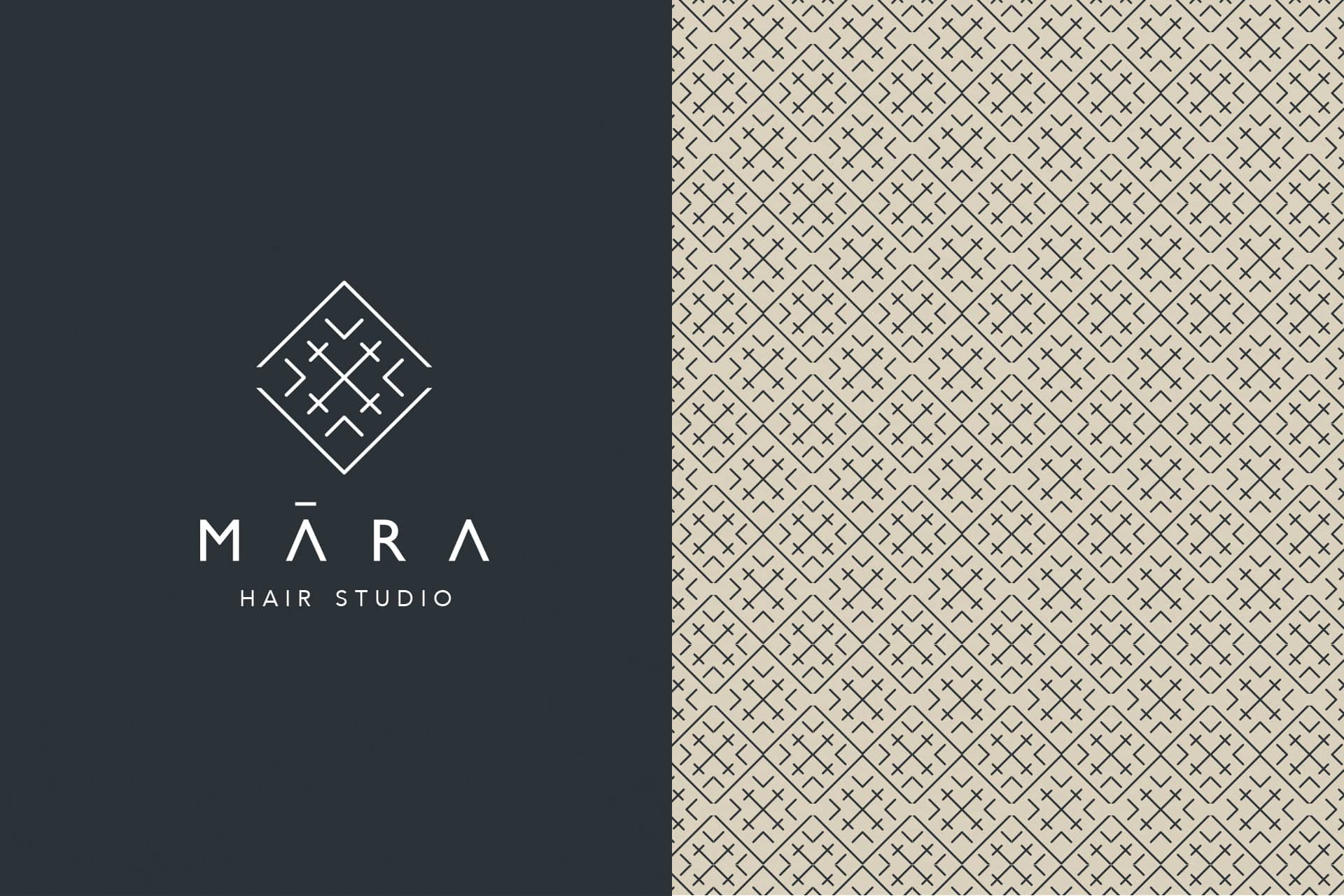 Mara logo and pattern