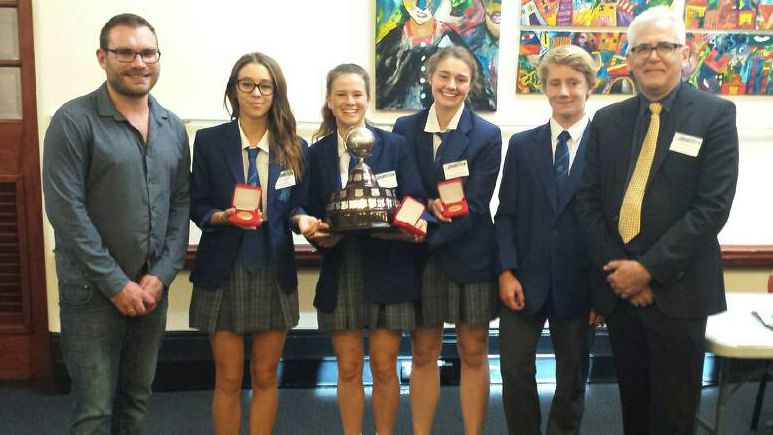 NSW Premier's Debating Challenge 2018 - Years 9 and 10 final