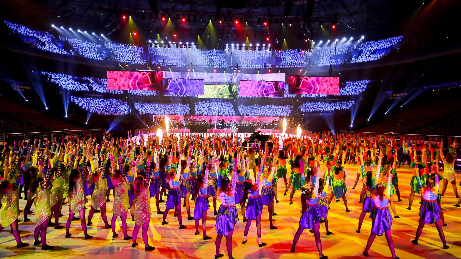 Schools Spectacular 2019 – Combined Schools Rehearsal