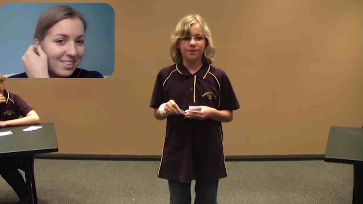 Stop rebutting yourself! - primary debating – 1. with Elinor Stephenson