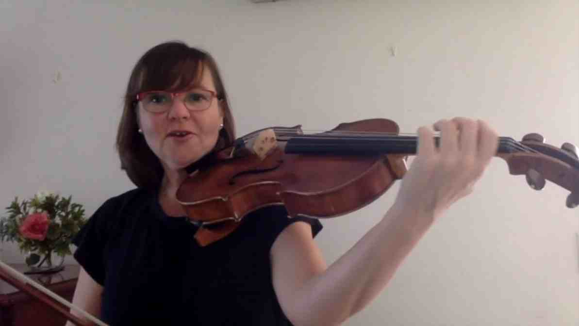 Viola – 1. Advanced string warm-up