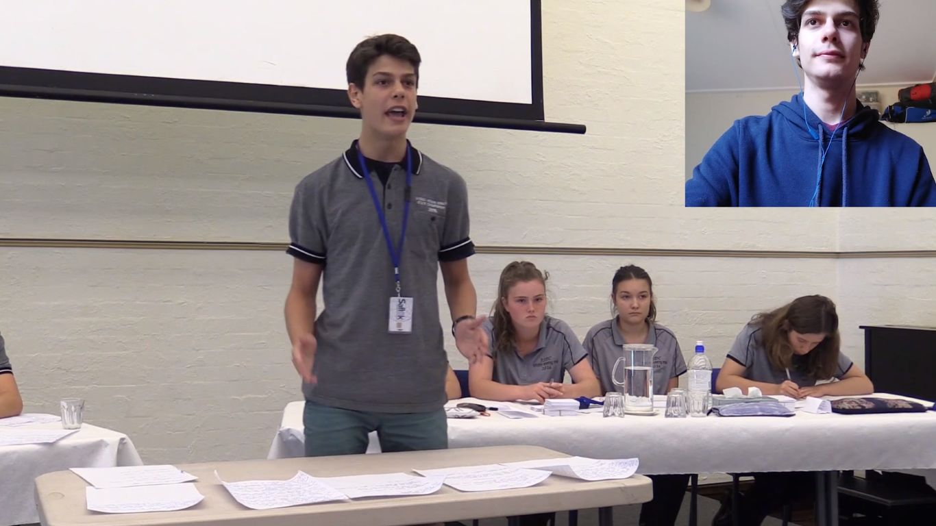 Stop rebutting yourself! – secondary debating – 3. with Alex De Araujo