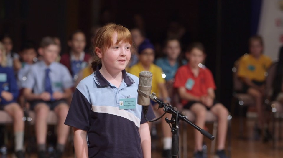 NSW Premier's Spelling Bee 2019 - Junior State Final