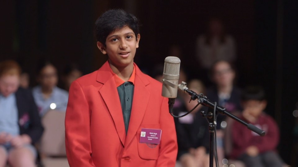 NSW Premier's Spelling Bee 2019 – Senior State Final