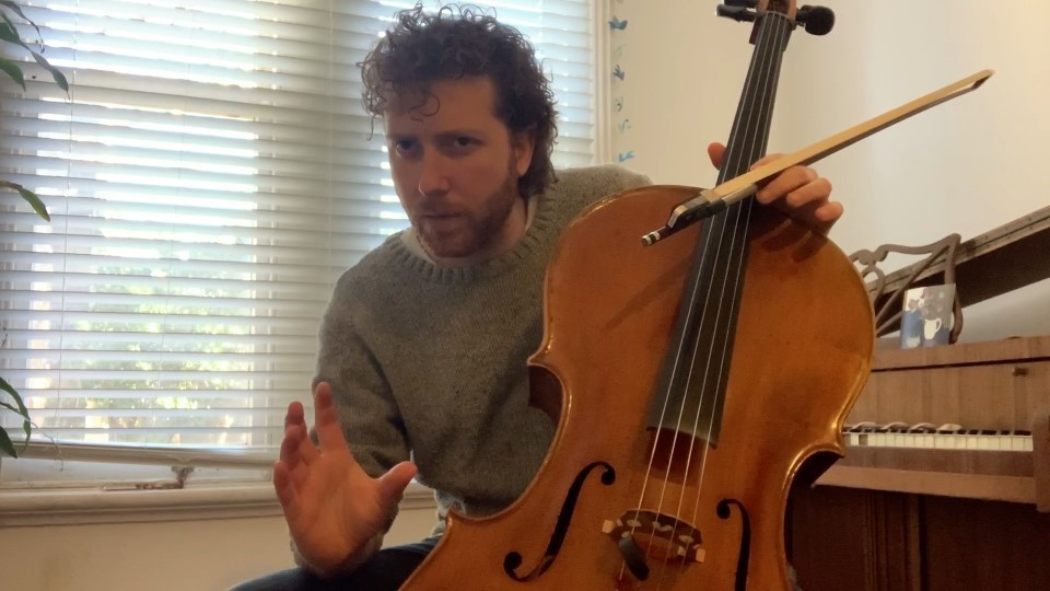 Cello bowing exercises