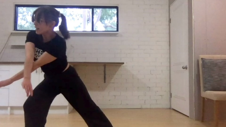 Contemporary choreography – 02. Second section