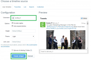 Embed Twitter Timelines to your Microsoft SharePoint Page