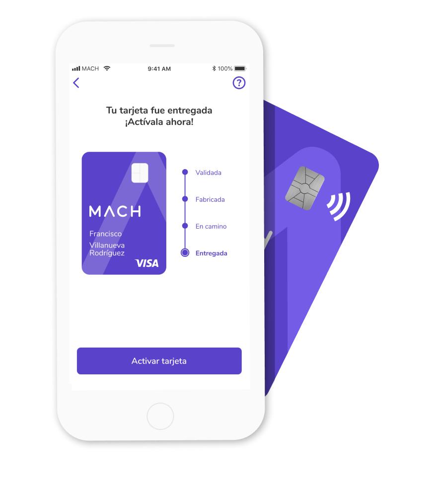 Tarjeta de credito prepago internacional en el teléfono