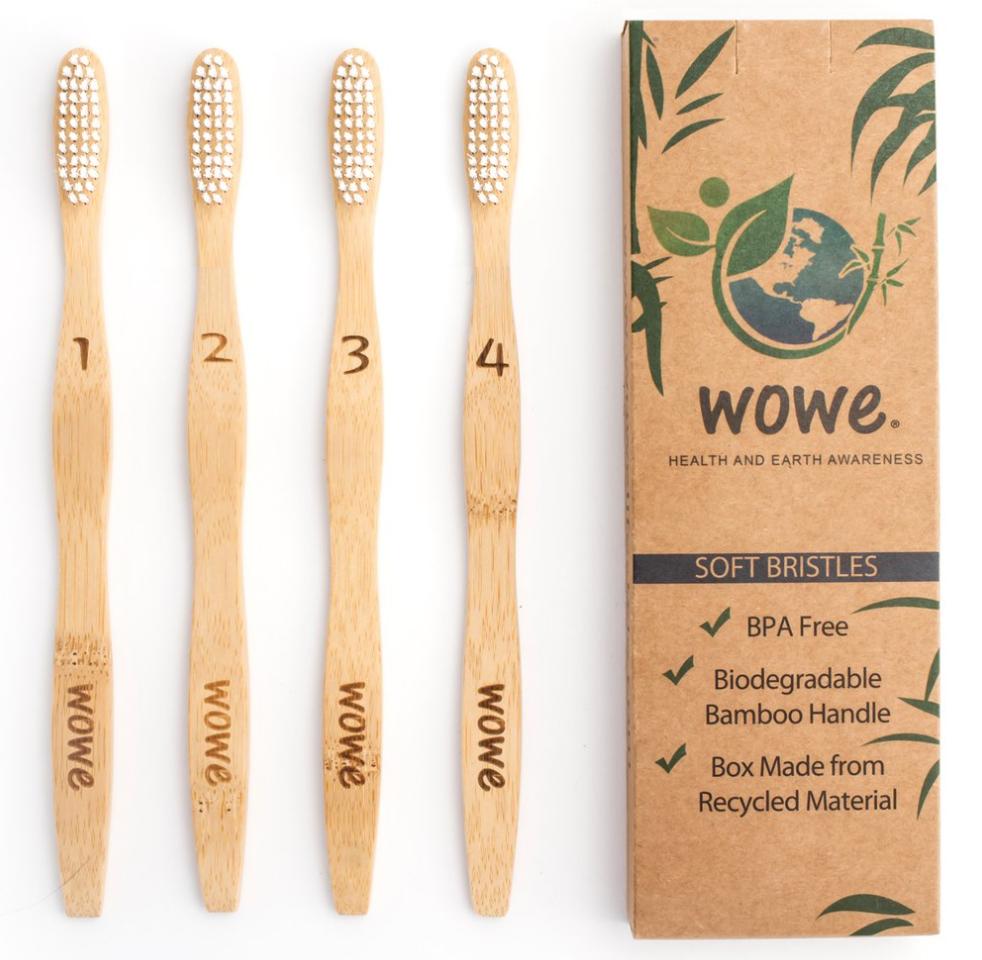 Bamboo Toothbrush: Wowe toothbrush