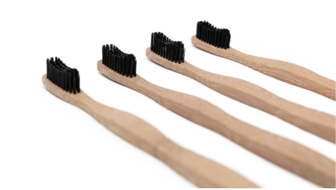 Bamboo Toothbrush: charcoal toothbrush