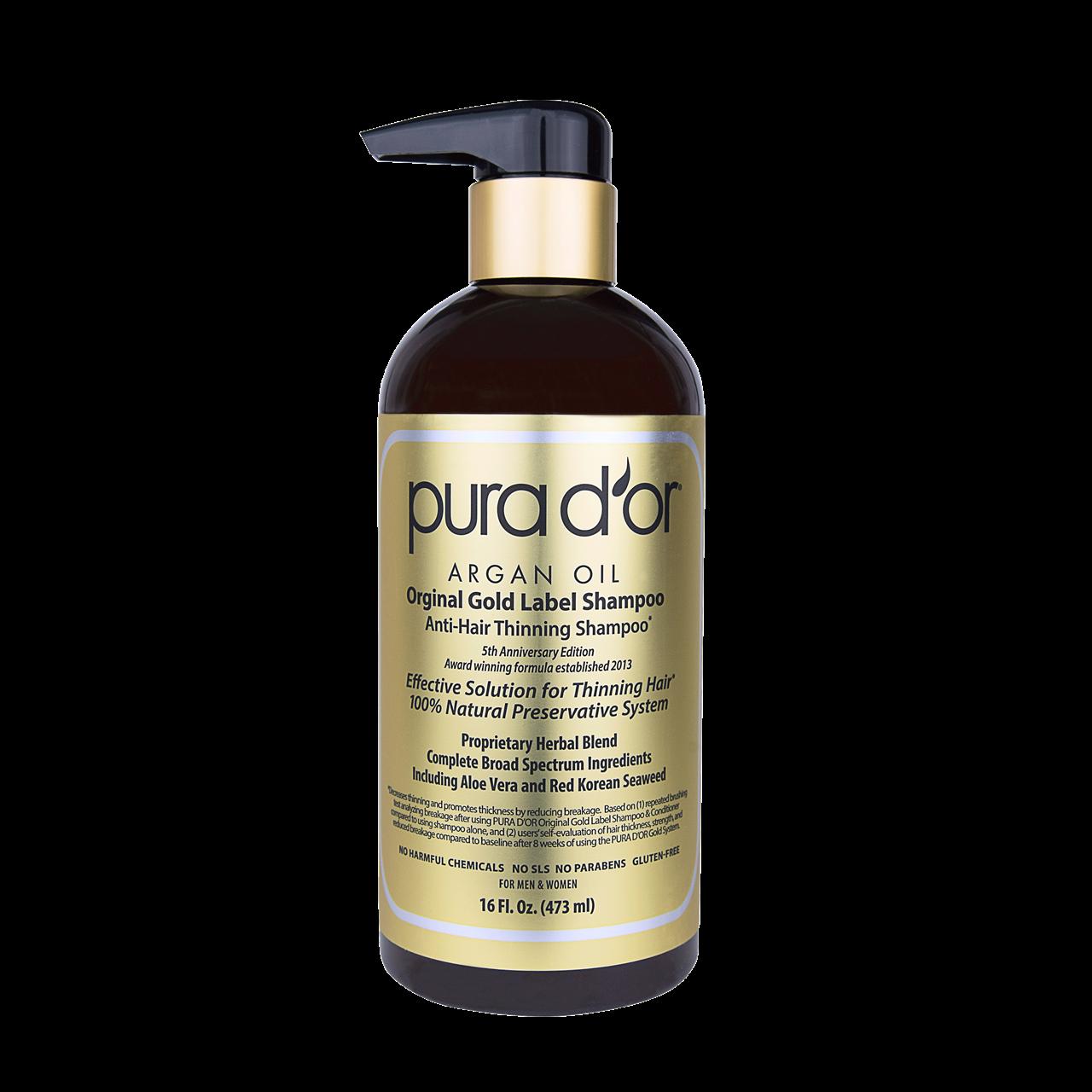Best Organic Shampoos: Pura D'or