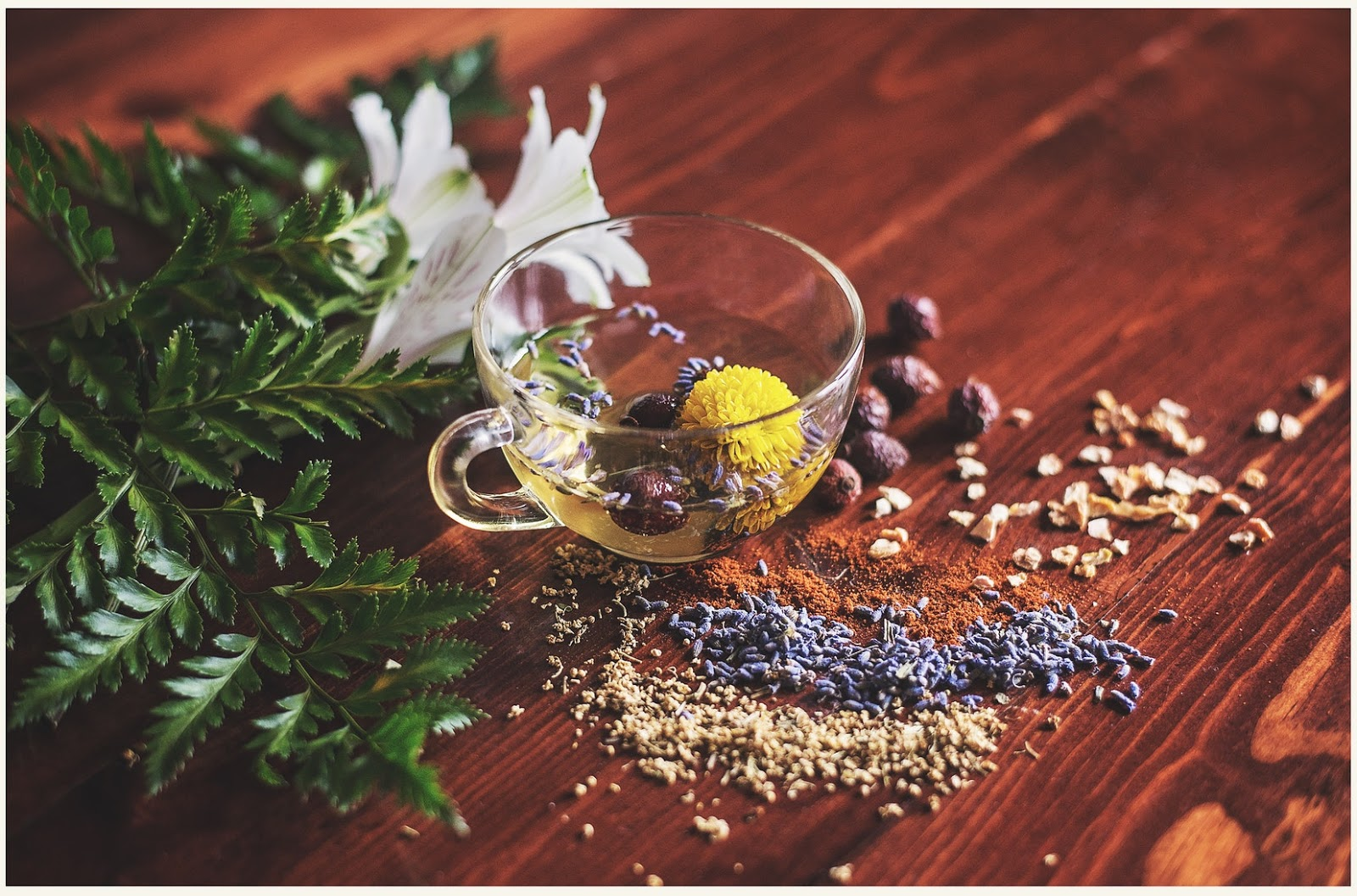 Natural Remedies For Rosacea: herbs and seeds