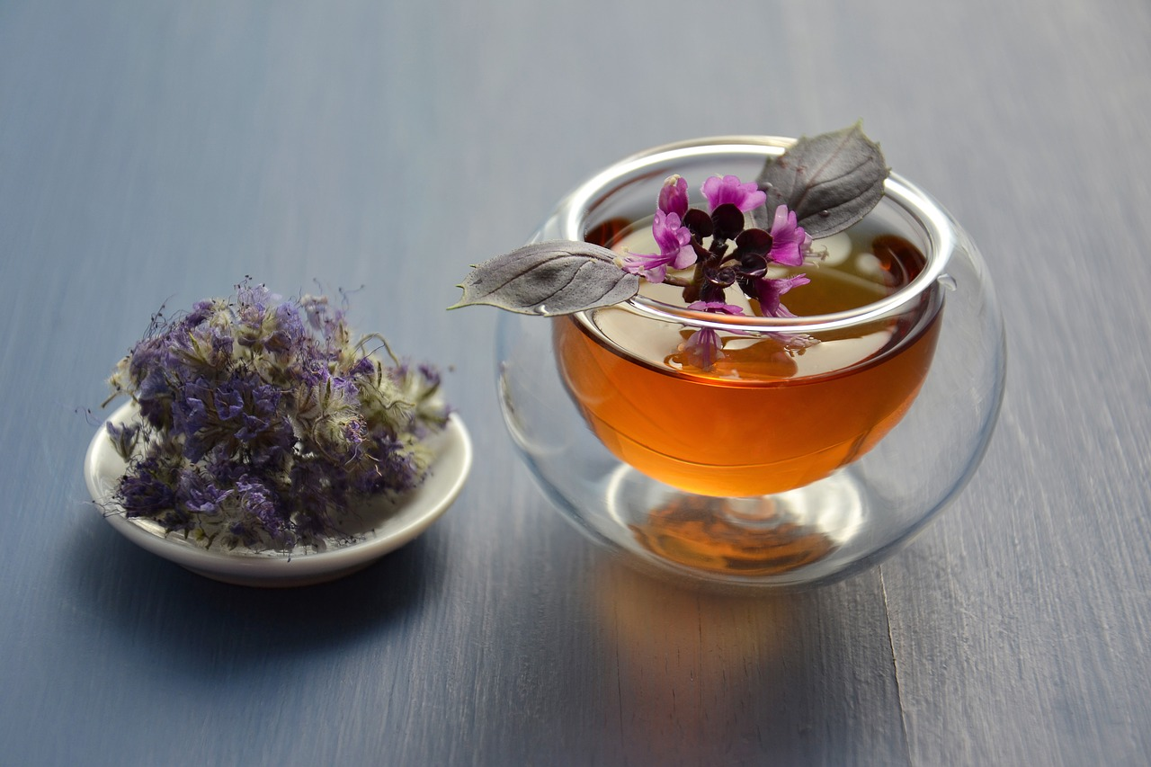 Herbal Remedies for Anxiety: cup of tea