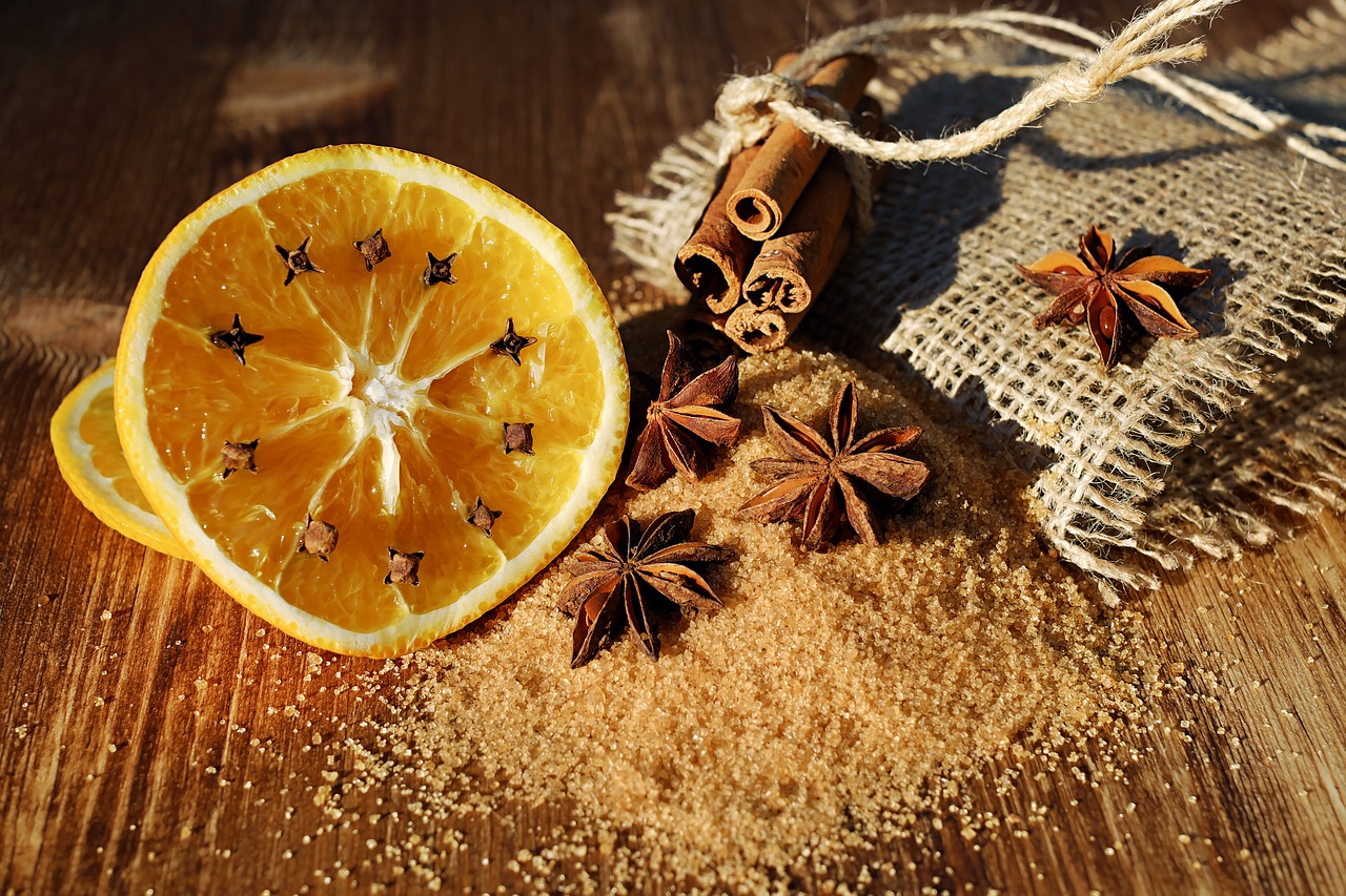 Home Remedy For A Toothache: herbs and citrus