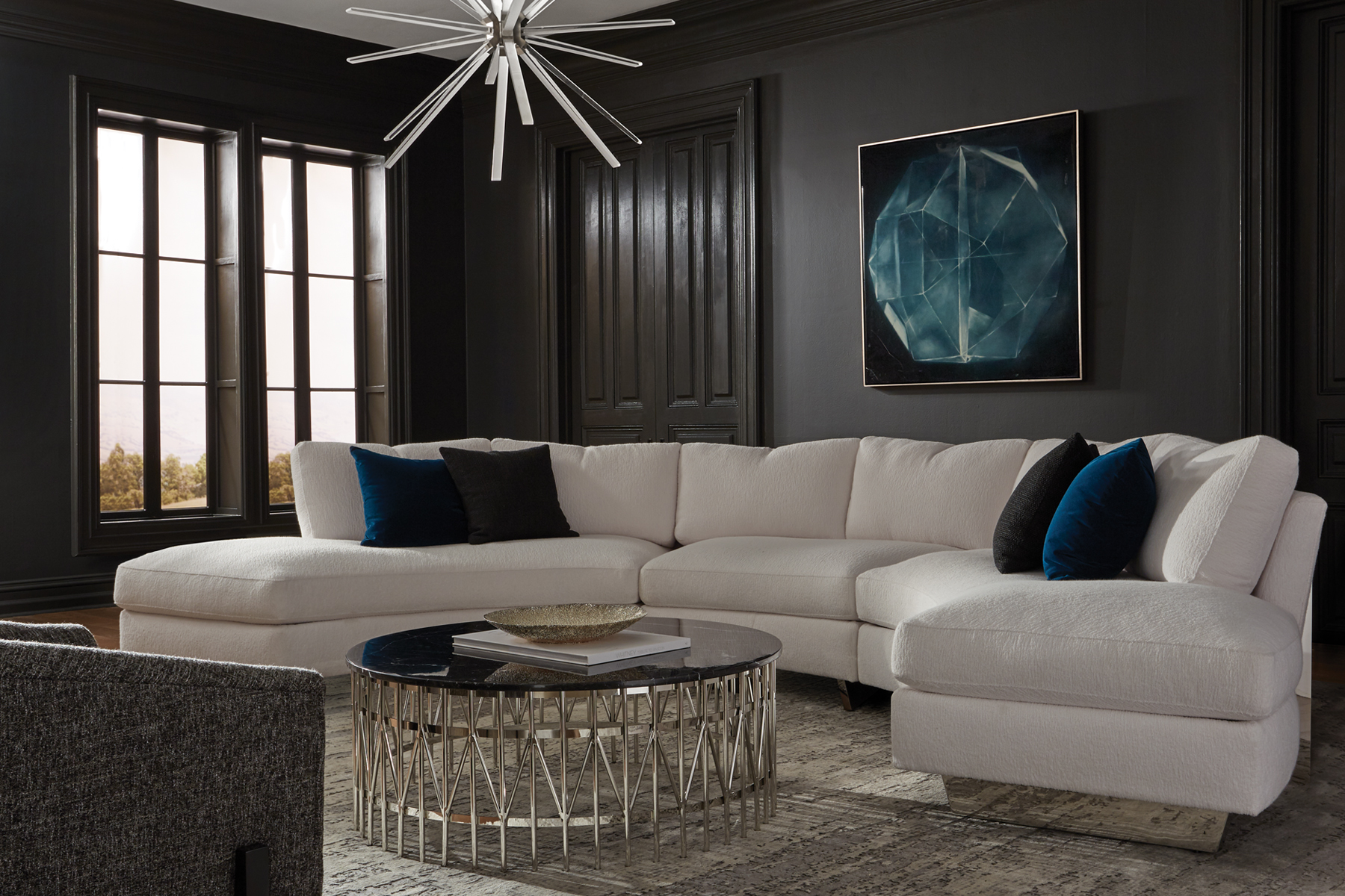 Cool Clip sectional from Thayer Coggin
