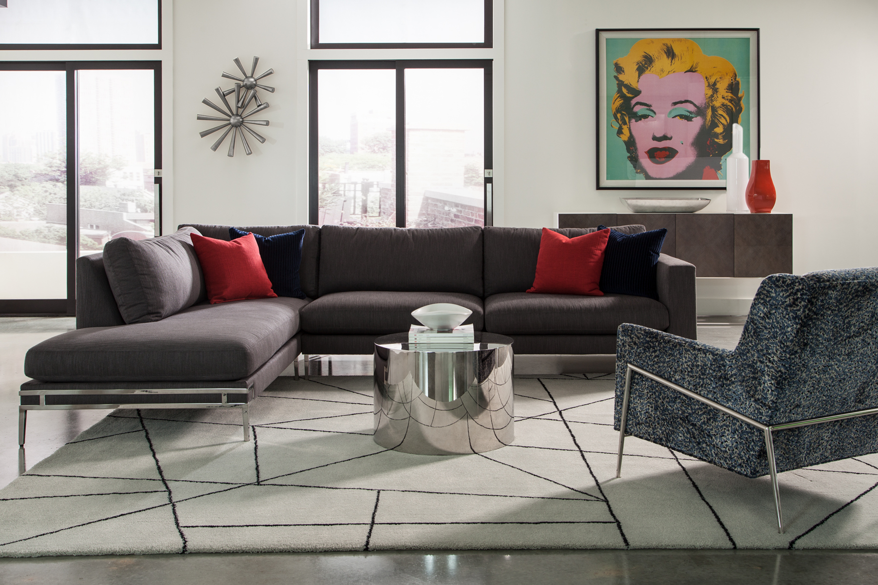 Manolo sectional from Thayer Coggin