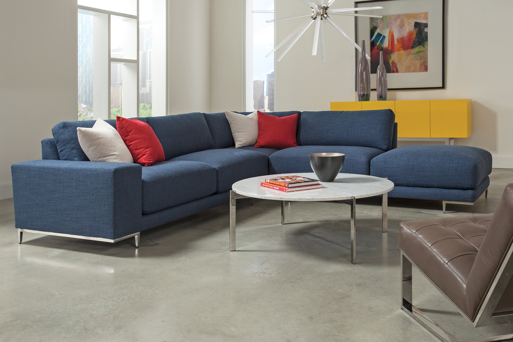 Hangover sectional from Thayer Coggin