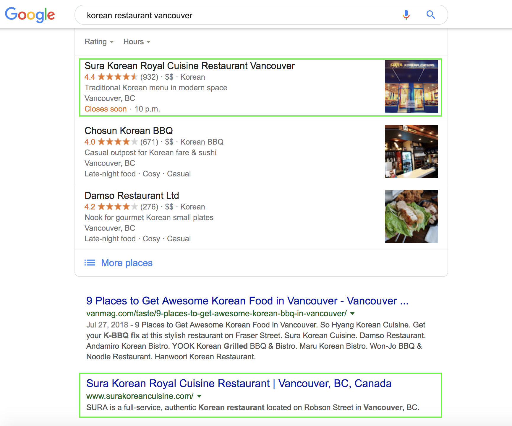 Vancouver SEO campaign preview